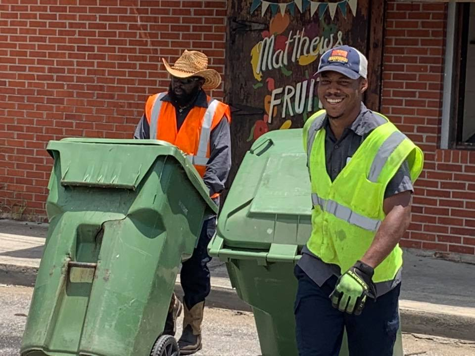 The City of Lake City Trash Pick.up  8.4.2020