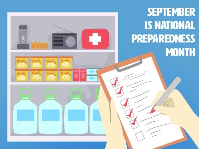 National Preparedness Month  9.2020