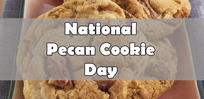 National Pecan Cookies Day 9.21.2020